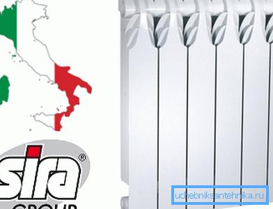 Итальянское устройство Sira.