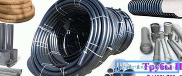 Изделия могут применяться для напорного и безнапорного водоснабжения.