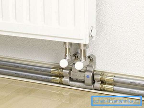 Изделия можно использовать для всех видов радиаторной разводки.