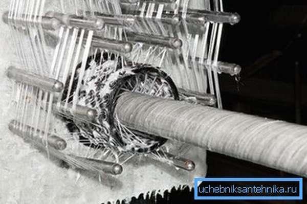 Изготовление НКТ спирально-кольцевой намоткой.