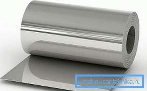 Изоляция трубопроводов оцинкованной сталью увеличивает срок эксплуатации изделий