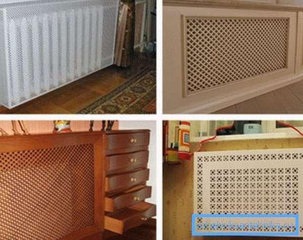 Как и чем закрыть радиаторы отопления