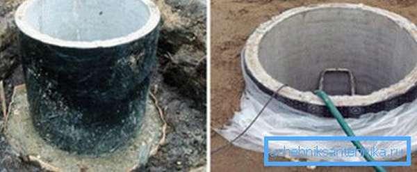Как проводится гидроизоляция колодцев в мокрых грунтах