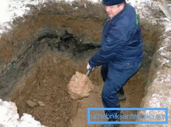 Как соорудить яму без дна