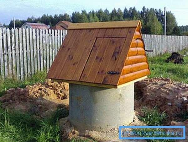 Как закрыть бетонный колодец