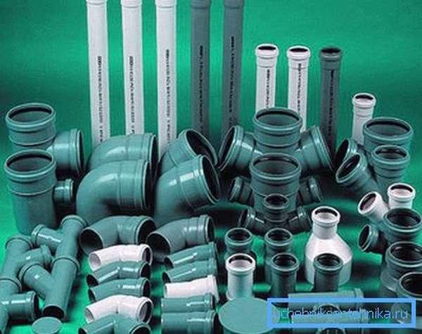 Система из полимерных труб