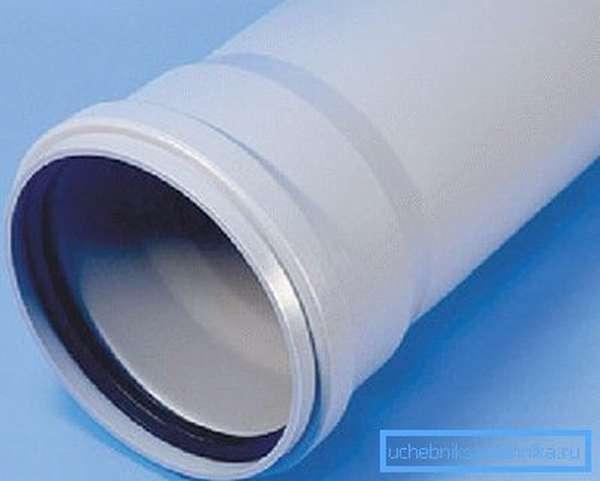 Канализационная труба ПВХ 70 мм