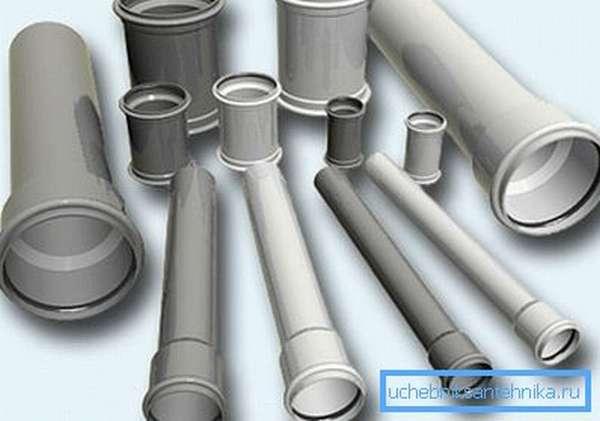 Канализационные трубы – основной элемент водоотвода