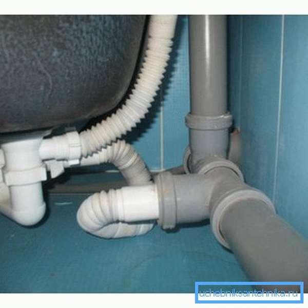 Канализационные трубы в квартире