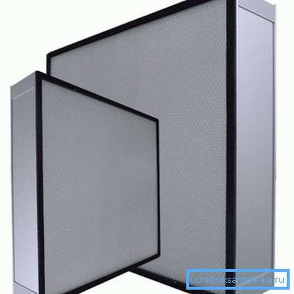 Кассетные фильтры Нера для вентиляции промышленных помещений
