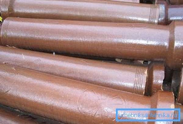 Керамические трубы для отвода лишней влаги