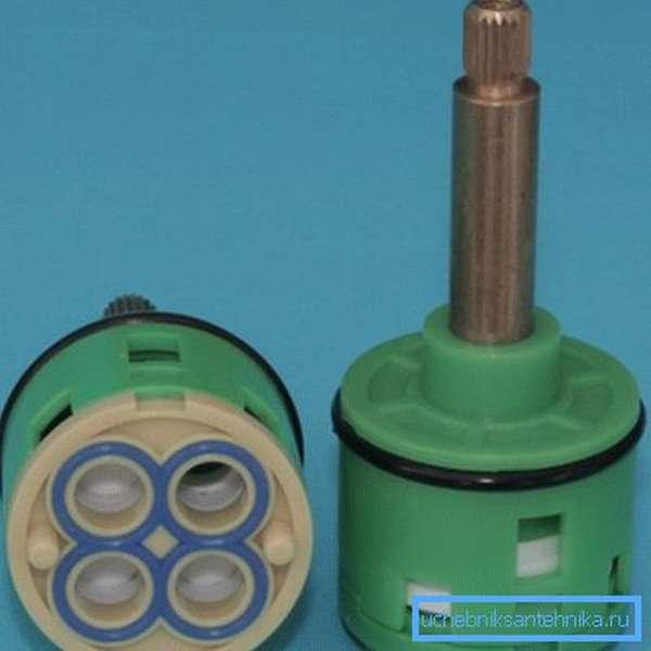 Керамический картридж переключения режимов смесителя для душевой кабины