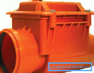 Клапаны для трубы ПВХ 110 мм можно приобрести практически в любом магазине сантехники