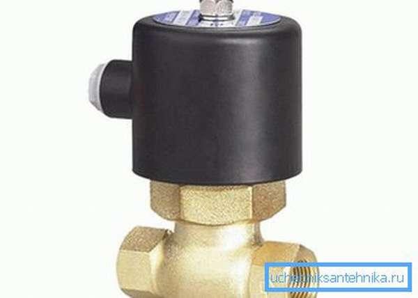Классический электромагнитный кран для воды