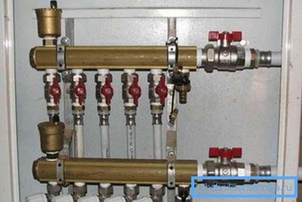 Коллекторное водоснабжение