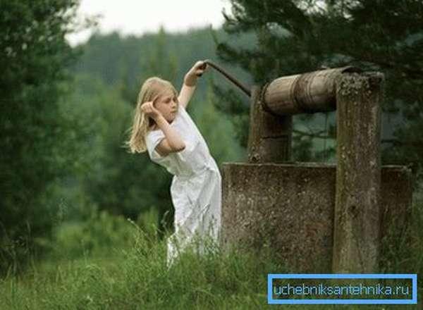 Колодец с чистой водой – здоровье в доме