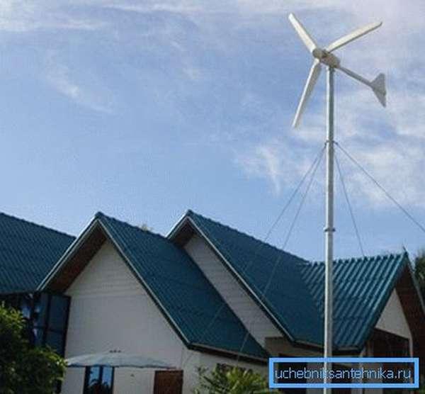 Компактный ветрогенератор