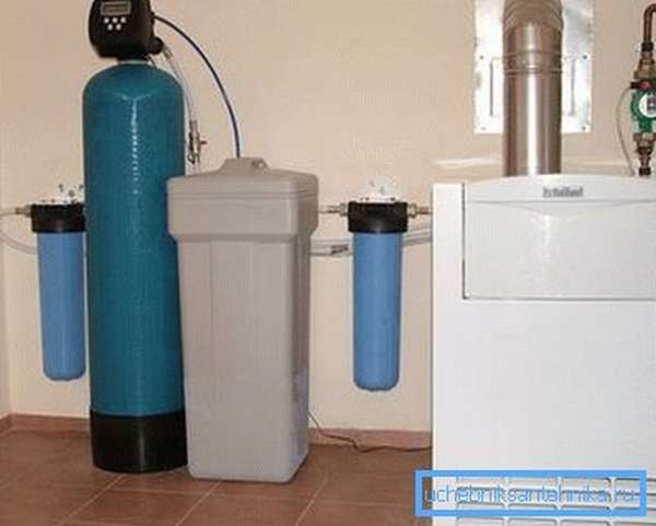 Комплекс для очистки и умягчения воды