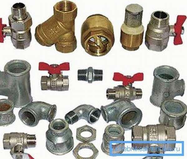 Комплект фитингов для радиаторов для отопительной системы