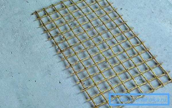 Сетка из композитной арматуры
