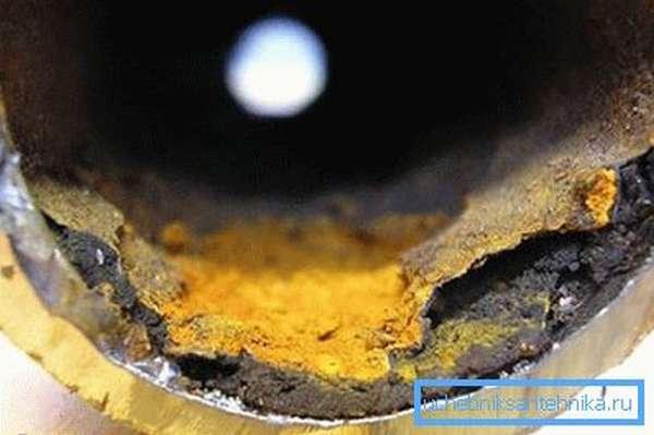 Коррозия труб