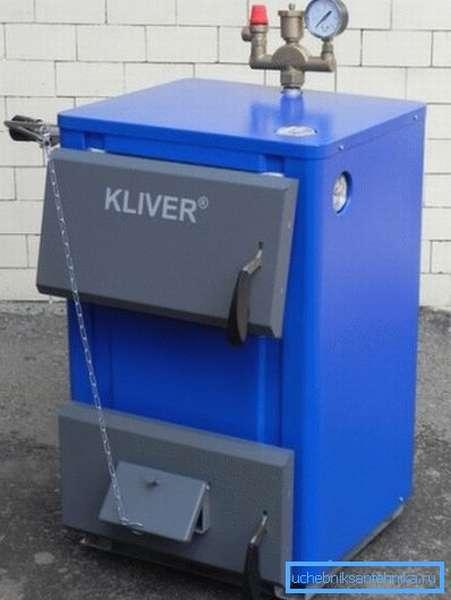 Котлы Кливер могут работать на различных видах топлива