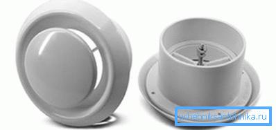Круглые диффузоры для вентиляции