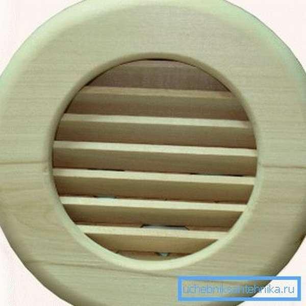Круглые изделия из дерева для бань