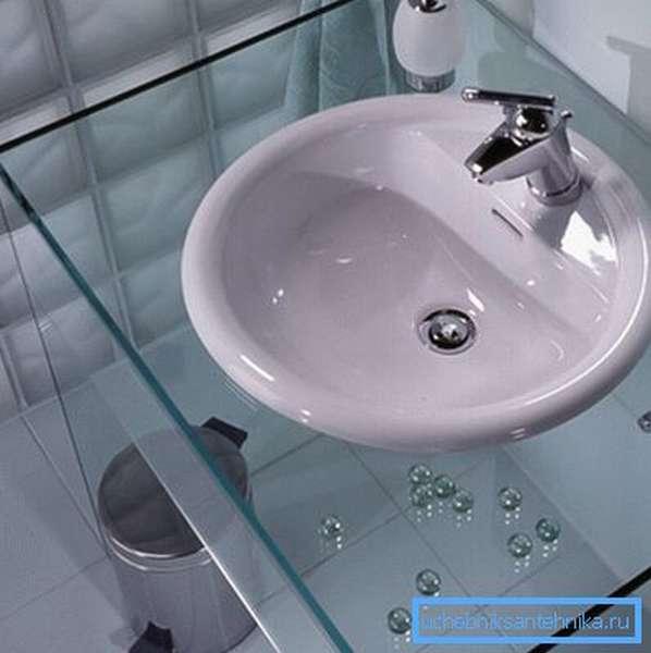 Круглые раковины умывальники для ванной