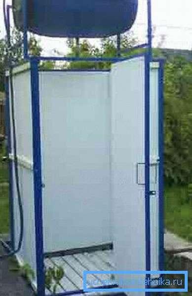 Летний душ для загородного участка
