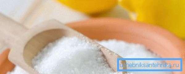 Лимонная кислота - альтернатива химии