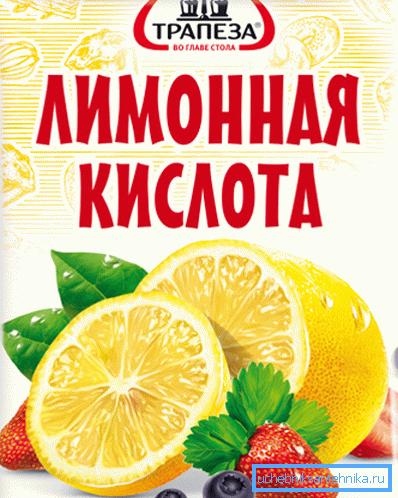 Лимонная кислота – средство, проверенное временем