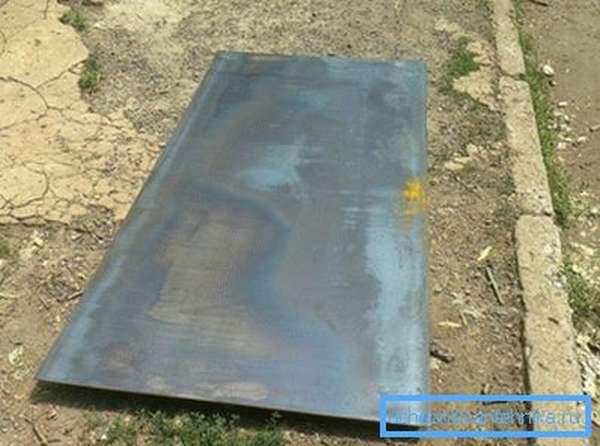 Листовой металл – основное сырье для бака