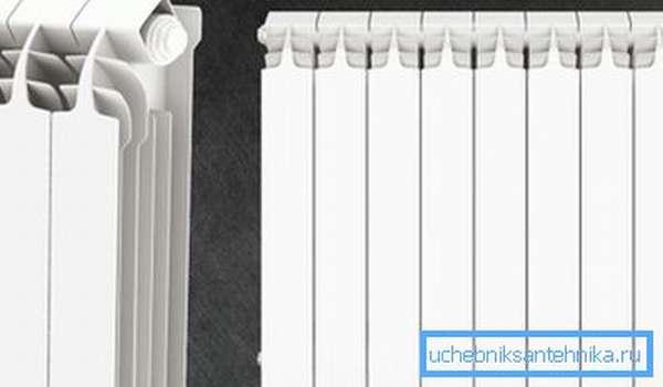 Литые алюминиевые радиаторы отопления отличаются высоким качеством исполнения и прочностью