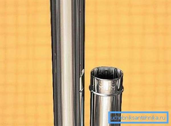 Лучше всего приобретать трубу с готовыми крепежными элементами, это значительно упростит сборку и увеличит надежность конструкции