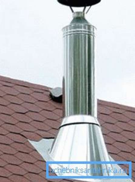Любительское фото готовой конструкции расположенной на крыше здания