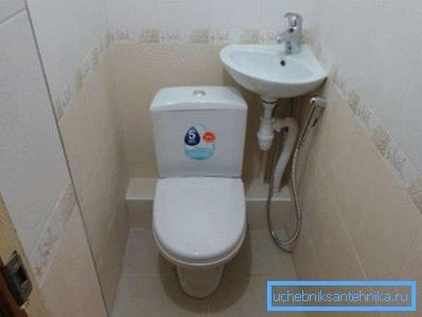 Маленькие умывальники для туалета – способ использовать максимально пространство помещения