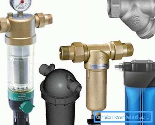 Механические фильтры для воды для очистки колодезной воды