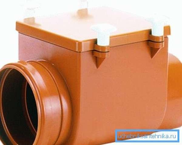 Механический затвор для канализации HL710