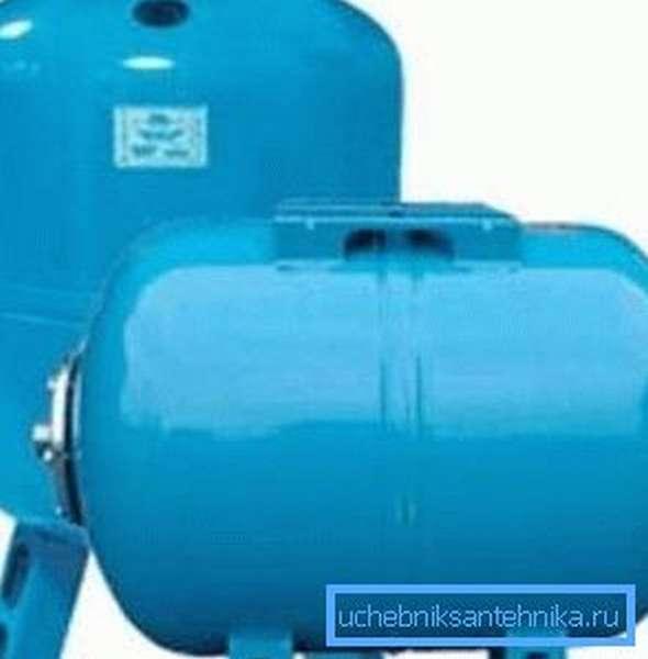 Мембранные гидроаккумуляторы для скважины