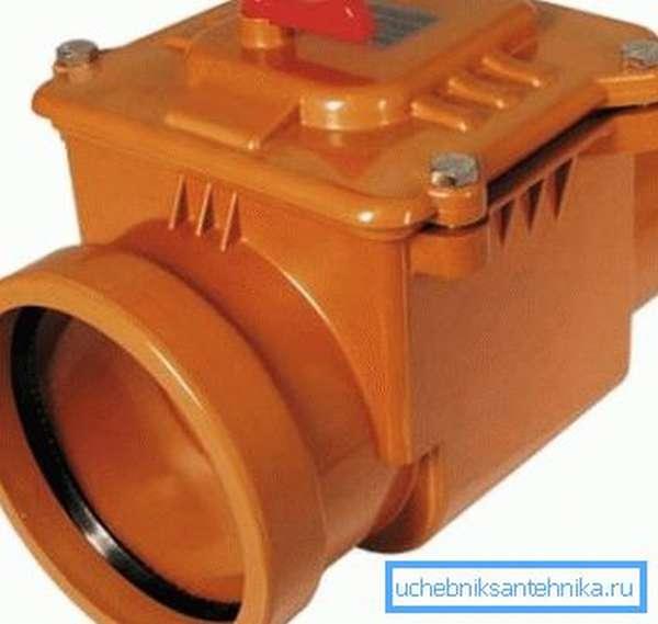 Мембранный запорный клапан из пластика (ПВХ)