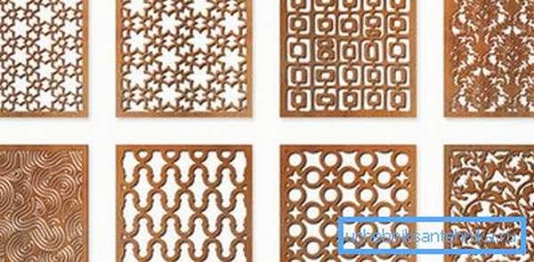 Металлические квадратные решетки