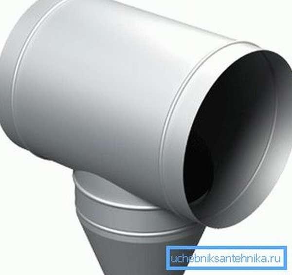 Металлический отвод конденсата из вентиляции ГТО-ОК