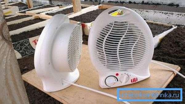 Мобильные и легкие воздушные обогреватели