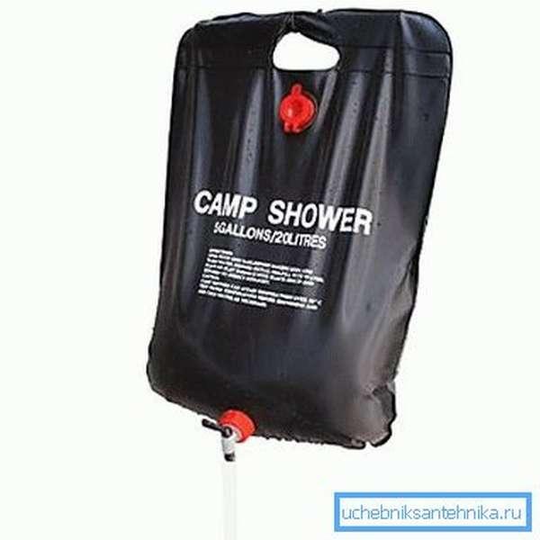 Мобильный душ-сумка