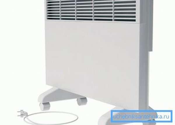 Мобильный конвекционный электрический радиатор