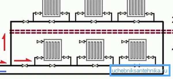 Модификация ленинградки для двухэтажного дома.