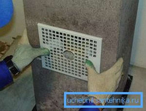 Монтаж вентиляционной решетки – дело несложное