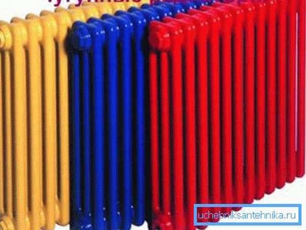 МС-140-500 имеют плоскую поверхность и окрашены в разные цвета.