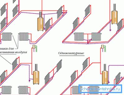 На этих схемах представлены некоторые возможные методы реализации